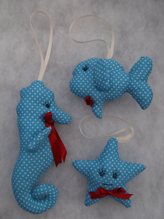 Fun fabric fishy friends!